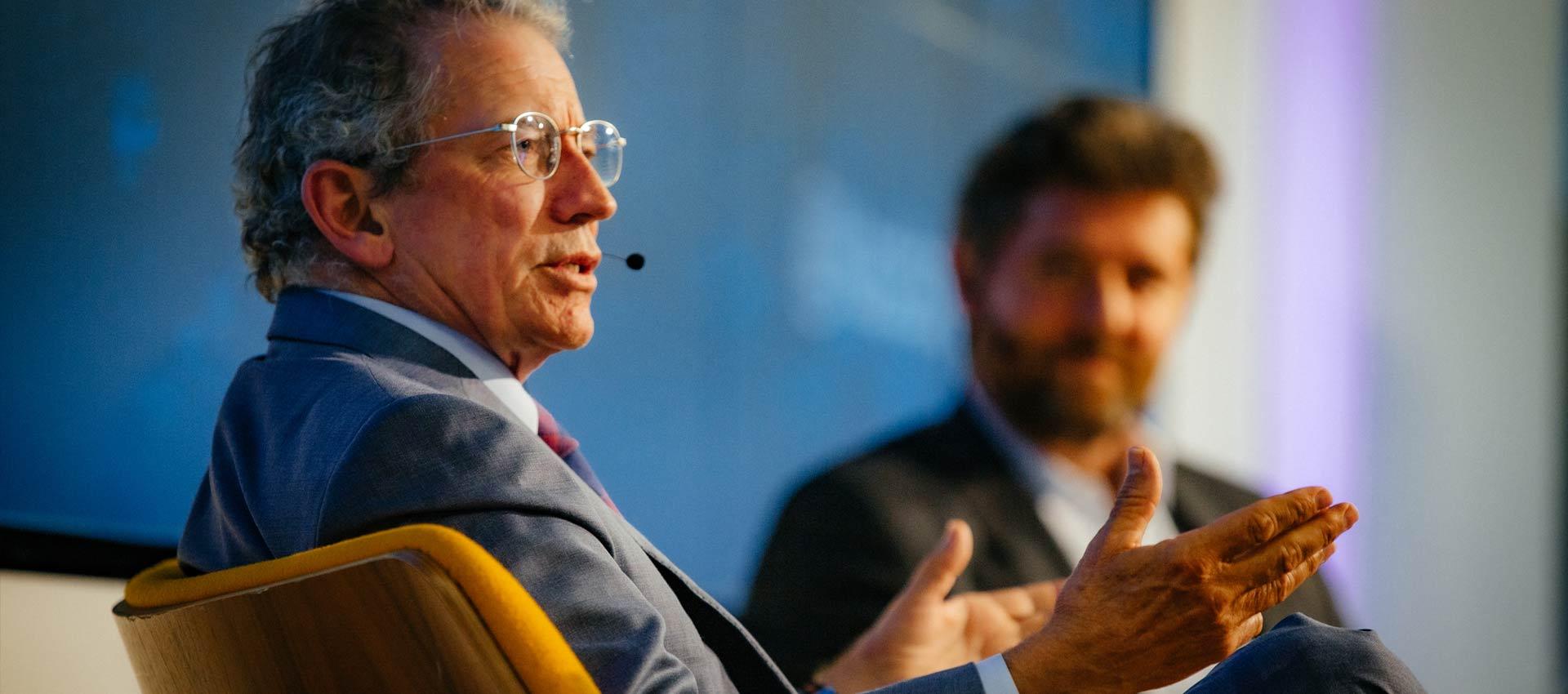 Tom Siebel at Nasdaq Entrepreneurial Center