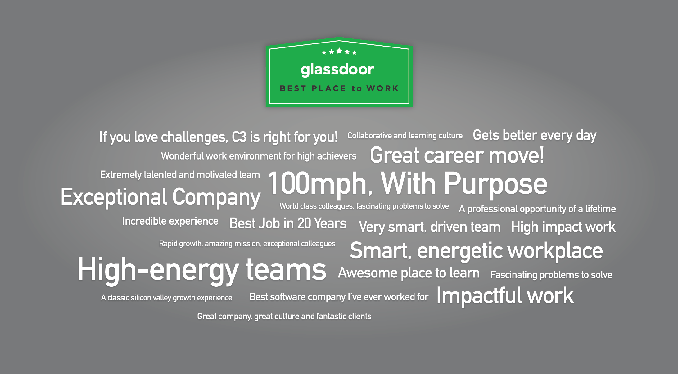 Glassdoor Best Place to Work