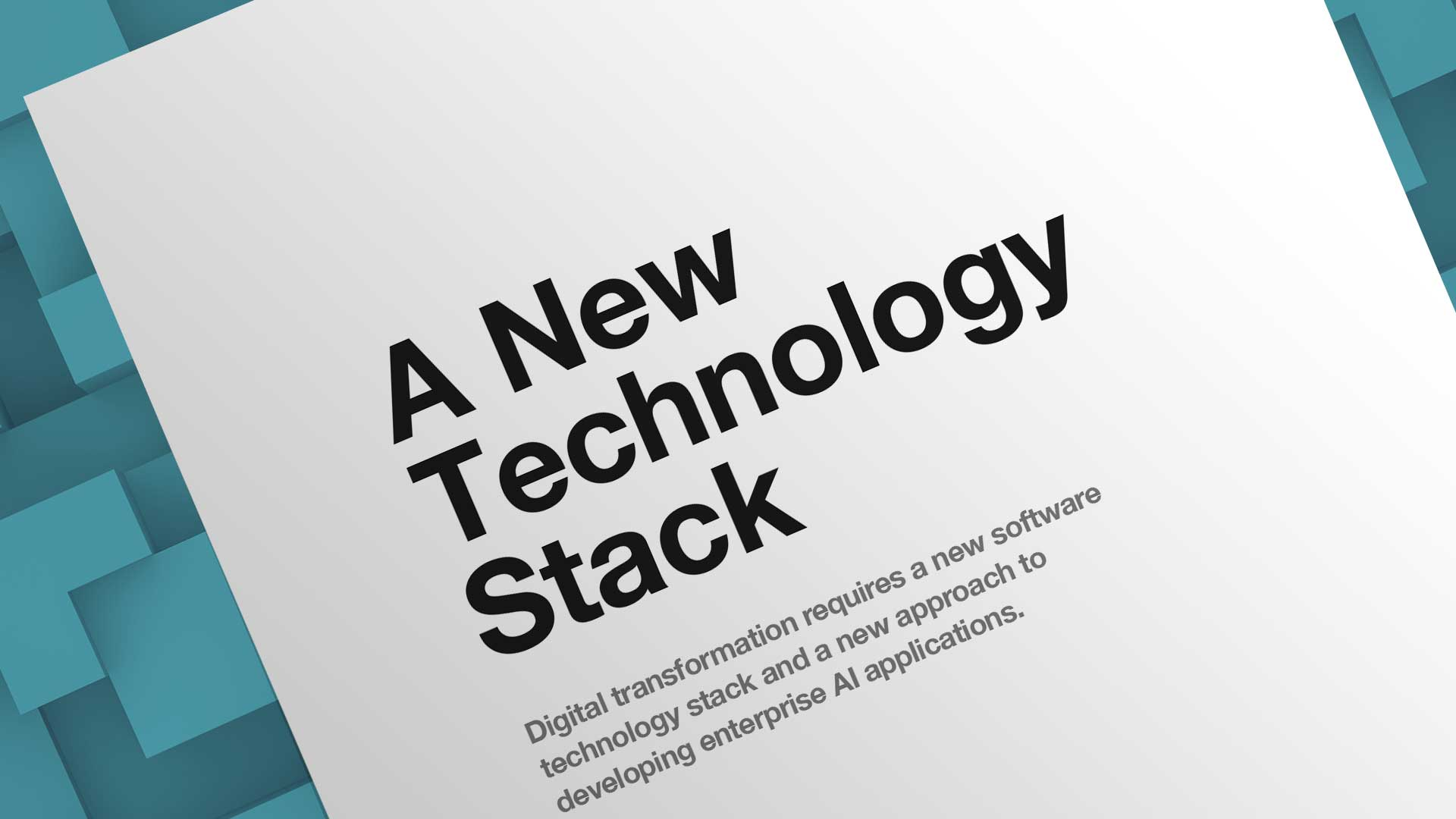 A New Technology Stack