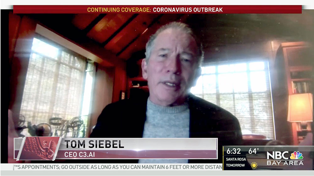 Tom Siebel on NBC Bay Area