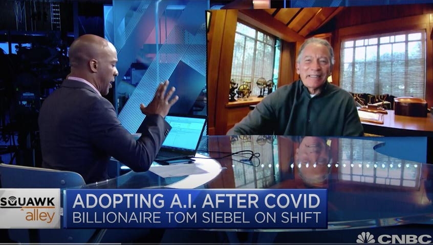 C3.ai CEO Tom Siebel on the adoption of AI post-coronavirus