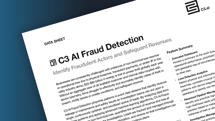 C3.ai Fraud Detection
