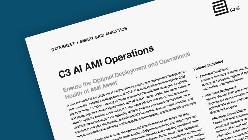 C3 AI AMI Operations