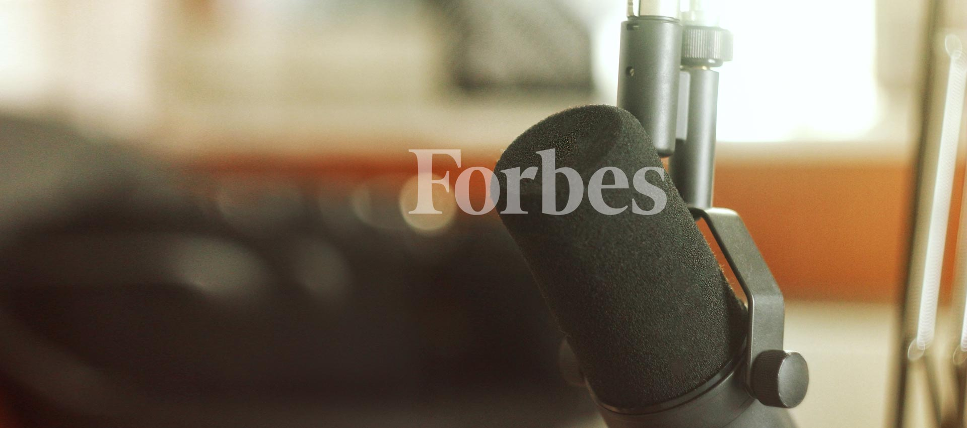 C3 IoT - Forbes Interview Microphone