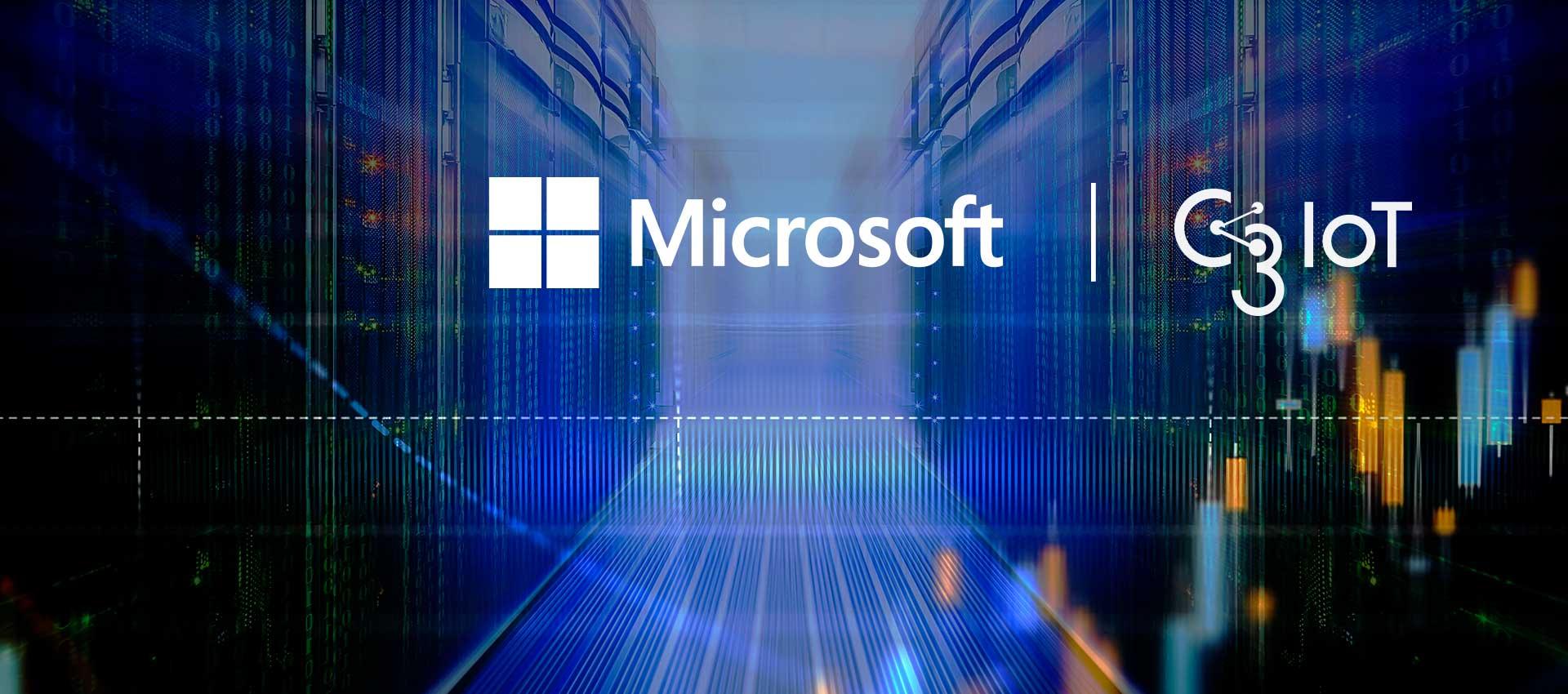 C3 IoT - Microsoft Announcement