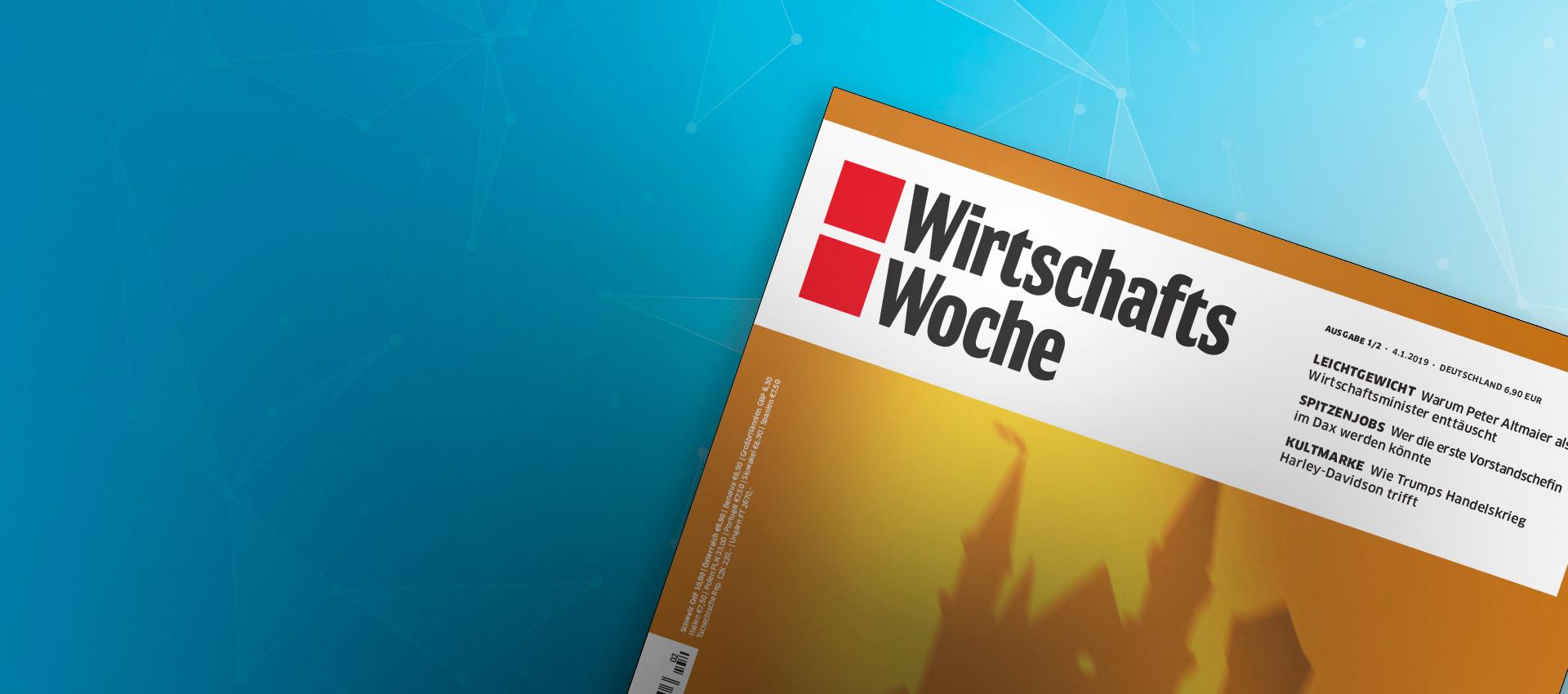 WirtschaftsWoche interviews Tom Siebel